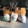 引越に伴って出た不用品 粗大ゴミ