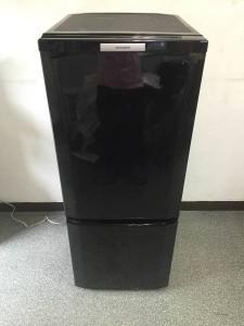 三菱 MITSUBISHI 2ドア 冷凍冷蔵庫 MR-P15T-B