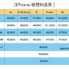 iPhone料金表